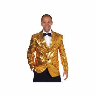 Mooie gouden glitter kleding heren